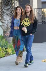 PARIS JACKSON and Gabriel Glenn Out for Lunch in Los Angeles 02/08/2019
