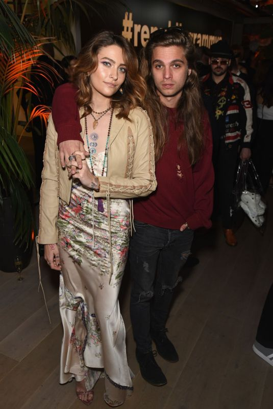 PARIS JACKSON at Republic Records Grammys After-party in Los Angeles 02/10/2019