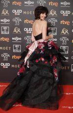 PAZ VEGA at Goya Awards Edition in Seville 02/02/2019