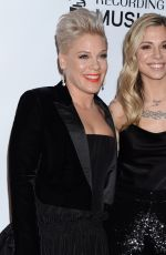 PINK at Musicares Person of the Year Honoring Dolly Parton in Los Angeles 02/08/2019