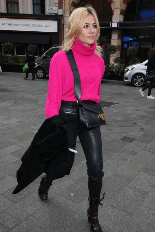PIXIE LOTT Arrives at Global Radio in London 02/13/2019