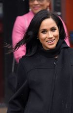 Pregnant MEGHAN MARKLE and Prince Harry Visit Bristol in England 02/01/2019