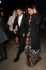PRIYANKA CHOPRA and Nick Jonas Night Out in Los Angeles 01/31/2019