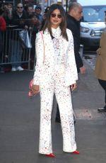 PRIYANKA CHOPRA arrives at Good Morning America in New York 02/06/2019