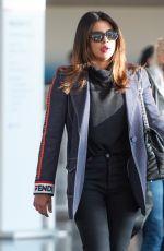 PRIYANKA CHOPRA at JFK Airport in New York 02/05/2019