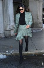 PRIYANKA CHOPRA Leaves Michael Kors Fashion Show in New York 02/13/2019