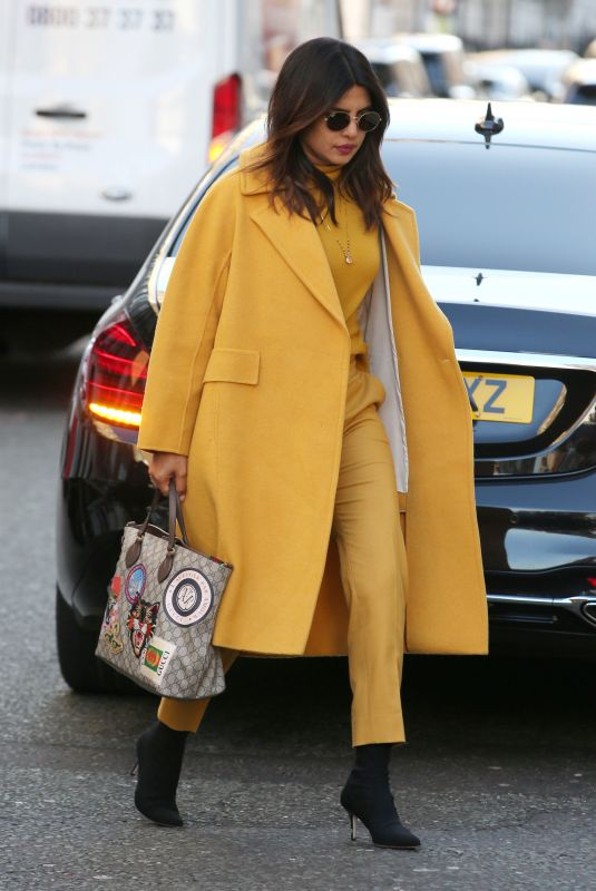 PRIYANKA CHOPRA Out and About in London 02/15/2019