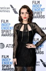 QUINN SHEPHERD at Film Independent Spirit Awards in Santa Monica 02/23/2019