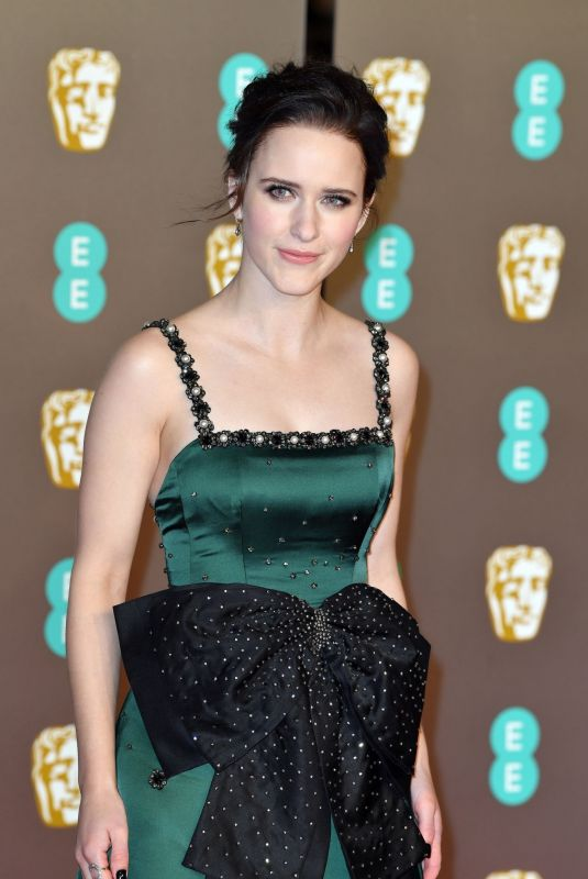 RACHEL BROSNAHAN at Bafta Awards 2019 in London 02/10/2019