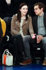 RACHEL BROSNAHAN at Celtics vs Knicks Game in New York 02/01/2019