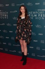 RAFFEY CASSIDY at Newport Beach Film Festival UK Honors 02/07/2019