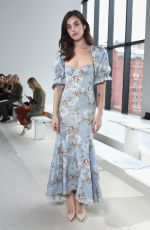 RAINEY QUALLEY at Brock Collection Show at New York Fashion Week 02/08/2019