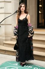RAINEY QUALLEY Leaves Ralph Lauren Fashion Show in New York 02/07/2019