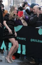 REBECCA ROMIJN Arrives at Build Series in New York 02/14/2019
