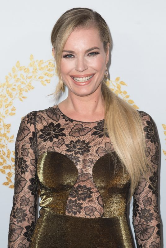 REBECCA ROMIJN at 2019 Hallmark Channel Winter TCA Press Tour 02/09/2019