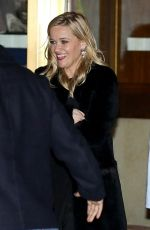 REESE WITHERSPOON Leaves Sunset Tower Hotel in Hollywood 02/10/2019