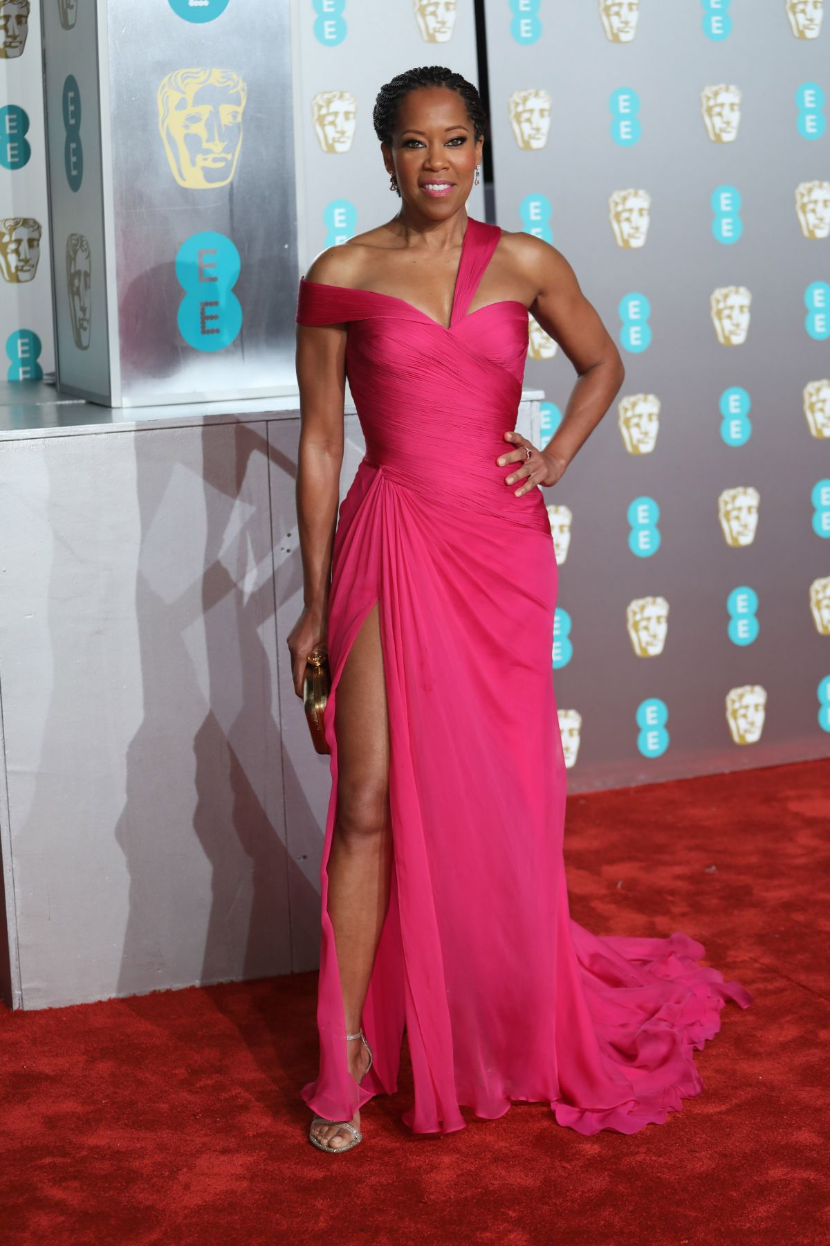 REGINA KING at Bafta Awards 2019 in London 02/10/2019 ...