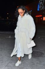 RIHANNA Night Out in New York 02/01/2019
