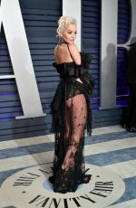 RITA ORA at Vanity Fair Oscar Party in Beverly Hills 02/24/2019