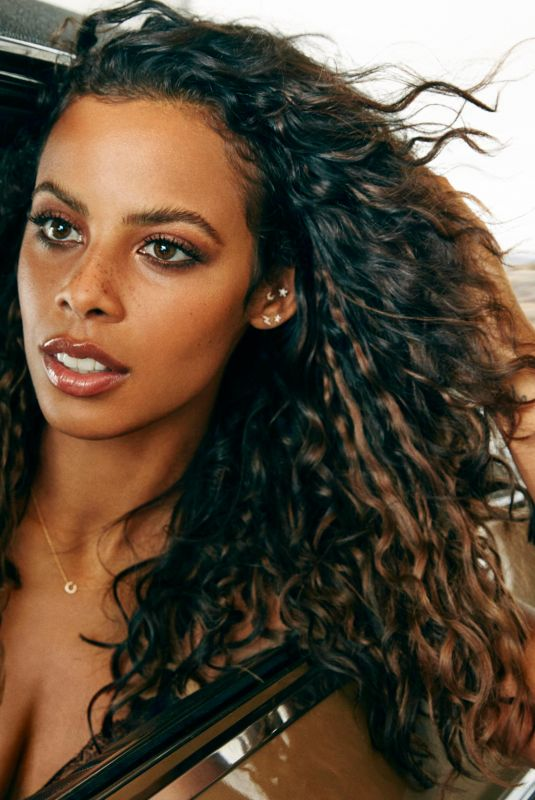 ROCHELLE HUMES on the Set of a Photoshoot, February 2019