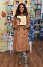 ROCHELLE HUMES Promotes Her New Children