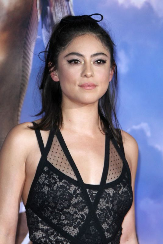 ROSA SALAZAR at Alita: Battle Angel Premiere in Los Angeles 02/05/2019