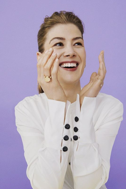 ROSAMUND PIKE for Stylist Magazine, 2019