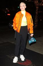 ROSE MCGOWAN Arrives at Bowery Hotel in Beverly Hills 02/05/2019