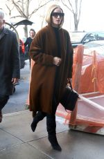 ROSIE HUNTINGTON-WHITELEY Out in New York 02/06/2019