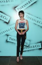 ROWAN BLANCHARD at Tiffany & co. Modern Love Photoghaphy Exhibition in New York 02/09/2019