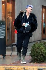 RUBY ROSE Out and About in West Hollywood 02/02/2019