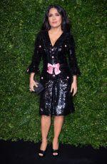 SALMA HAYEK at Charles Finch & Chanel Pre-BAFTA Dinner in London 02/09/2019