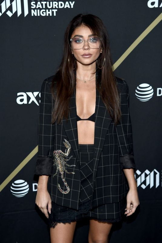 SARAH HYLAND at DirecTV Super Saturday Night 2019 in Atlanta 02/02/2019