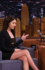 SARAH HYLAND at Tonight Show Starring Jimmy Fallon in New York 02/26/2019