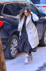 SARAH JESSICA PARKER Out and About in New York 01/31/2019