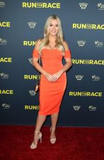 SARAH ROSE SUMMERS at Run the Race Premiere in Hollywood 02/11/2019
