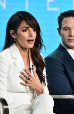 SARAH SHAHI at City on a Hill Panel at TCA Winter Tour in Los Angeles 01/31/2019