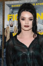 SARAYA-JADE BEVIS at Fighting with My Family Special Screening in New York 02/11/2019
