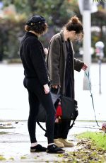 SCOUT and RUMER WILLIS Out and About in Los Angeles 02/05/2019