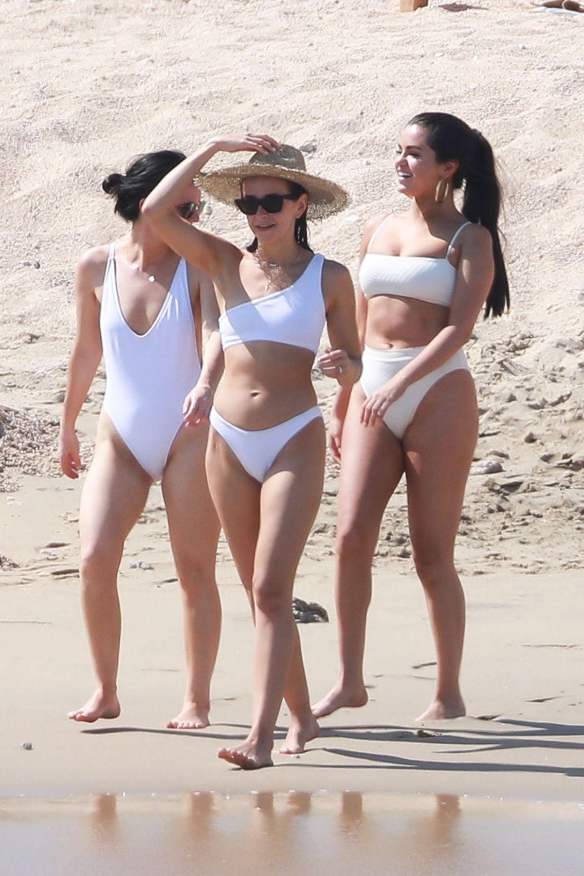 b2fb3dc81 SELENA GOMEZ and Friends in Bikinis at a Beach in Cabo San Lucas 02 ...