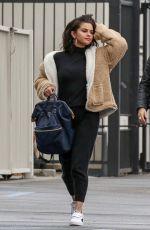 SELENA GOMEZ Heading to a Studio in Los Angeles 02/13/2019