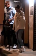 SELENA GOMEZ Leaves a Music Studio in Los Angeles 02/26/2019