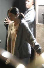 SELENA GOMEZ Leaves Recording Studio in Los Angeles 02/27/2019