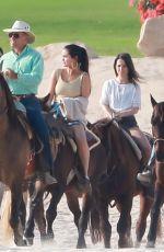 SELENA GOMEZ Riding a Horse in Cabo San Lucas 02/11/2019