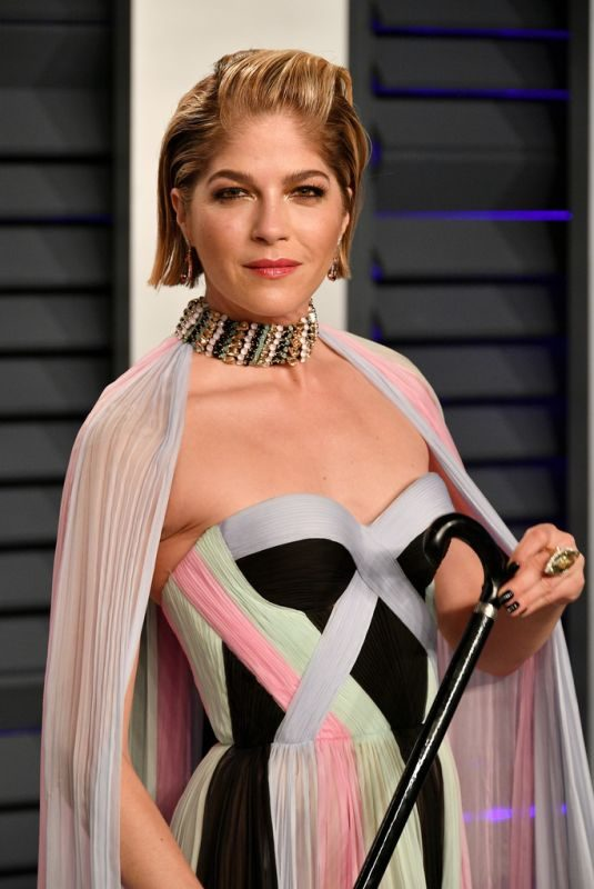 SELMA BLAIR at Vanity Fair Oscar Party in Beverly Hills 02/24/2019