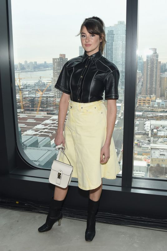 SHAILENE WOODLEY at Proenza Schouler Fashion Show in New York 02/11/2019