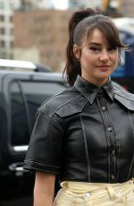 SHAILENE WOODLEY Out at New York Fashion Week 02/111/2019