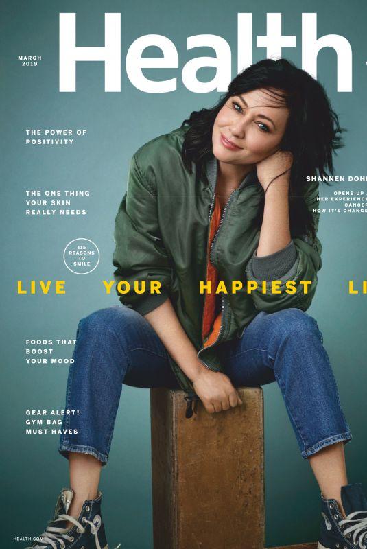SHANNEN DOHERTY in Health Magazine, March 2019