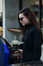 SOFIA CARSON at Alfred Coffee in Los Angeles 02/07/2019