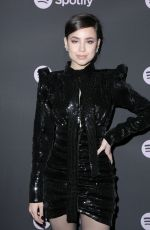 SOFIA CARSON at Spotify Best New Artist 2019 in Los Angeles 02/07/2019